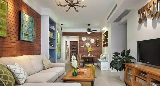 闺蜜美式新房装好了,餐厅浪漫漂亮,电视墙有创意,你估计没见过