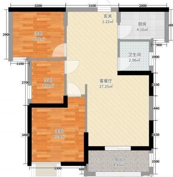 发小装新房连客厅都贴瓷砖,效果轻奢,果然有钱任性啊!